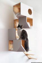 Catissa 4 storey cat house